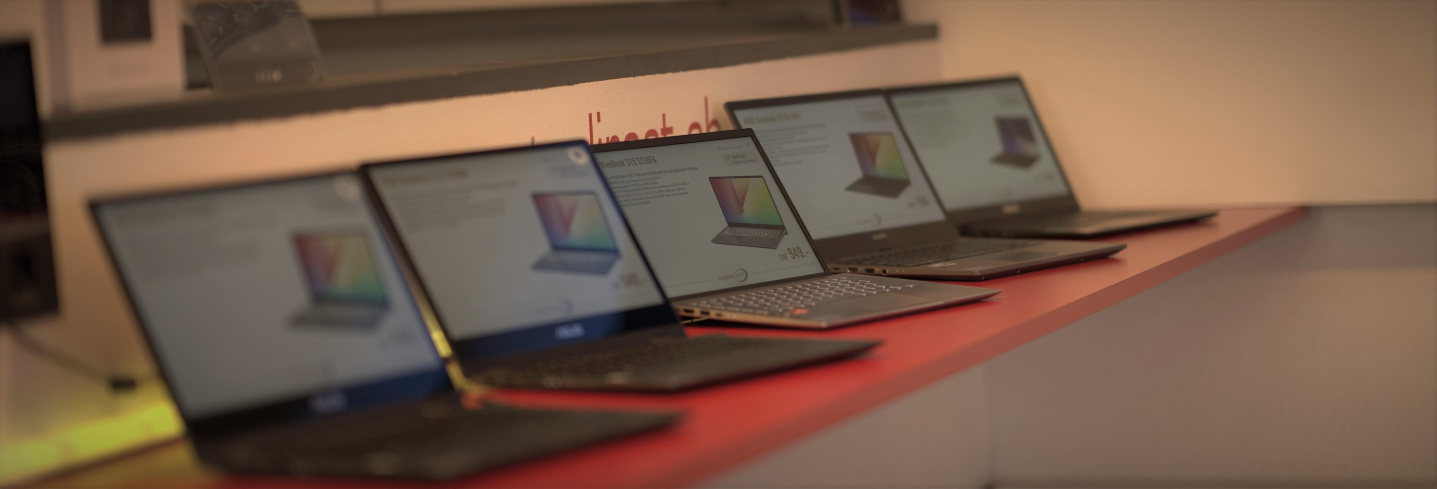 Notebook Beratung und Ausstellung Computer Direct